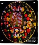 Decorated Wreath Acrylic Print