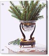 Decorating For Christmas Acrylic Print