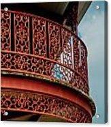 Decorative Balcony Acrylic Print