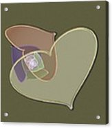 Decorative Heart Acrylic Print