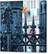 Decorative Iron Fence In New Orleans Acrylic Print