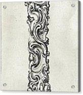 Decorative Letter Type I 1650 Acrylic Print