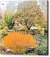 Decorative Pond Acrylic Print