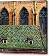 Decorative Roof Acrylic Print