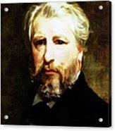 Dedication To William Adolphe Bouguereau Acrylic Print
