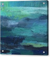 Tranquility- abstract painting Acrylic Print