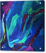 Deep Blue Thoughts Acrylic Print