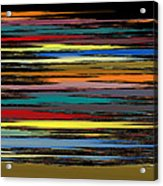 Deep Color Field 2 Acrylic Print