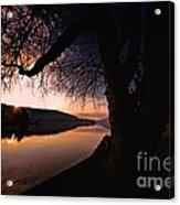 Deep Creek Sunrise Acrylic Print