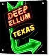 Deep Ellum Acrylic Print
