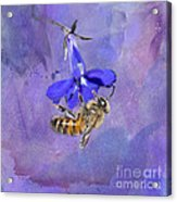 Deep In Purple Acrylic Print