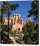Deep In The Bryce Canyon Acrylic Print