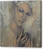 Deep Inside Acrylic Print by Dorina  Costras