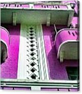 Deep Purple Acrylic Print