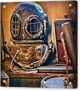 Deep Sea Diver Acrylic Print