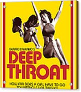 Deep Throat Acrylic Print