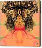 Deep Within Your Sacred Space Acrylic Print
