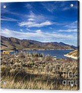 Deer Creek Dam-provo Utah Acrylic Print