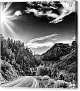 Deer Creek Road Acrylic Print