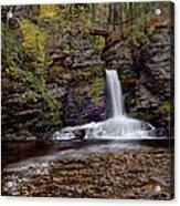Deer Leap Falls Acrylic Print