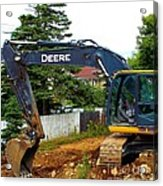 Deere For Hire Acrylic Print