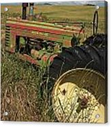 Deere John Acrylic Print by Latah Trail Foundation
