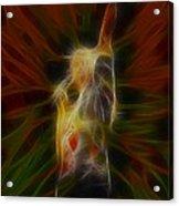 Def Leppard-adrenalize-joe-gb22-fractal-1 Acrylic Print