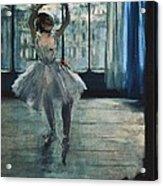 Degas, Edgar 1834-1917. Dancer Acrylic Print by Everett