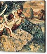 Degas, Edgar 1834-1917. Four Dancers Acrylic Print by Everett
