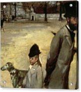Degas Place De La Concorde Acrylic Print
