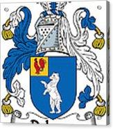Dehany Coat Of Arms Irish Acrylic Print