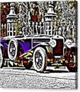 Delage Co2 Dupla Cowl Tourer Acrylic Print