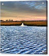 Delaware- Assawoman Bay Acrylic Print
