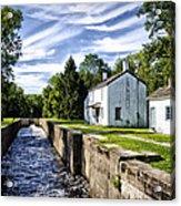 Delaware Canal Kingston New Jersey Acrylic Print