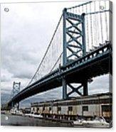 Delaware River Bridge - Philadelphia Acrylic Print