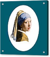 Delft Blue Flip Side Acrylic Print