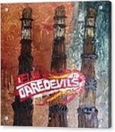Delhi Daredevils In Delhi Acrylic Print