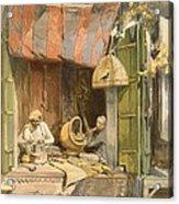 Delhi - Jeweller, From India Ancient Acrylic Print