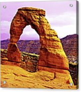 Delicate Arch - Arches National Park Acrylic Print