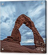 Delicate Arch Blue Hour Acrylic Print