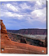 Delicate Arch Located In Arches Acrylic Print