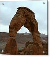 Delicate Arch View Acrylic Print