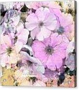 Delicate Bouquet Acrylic Print