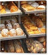 Delicious Pastries In Brussels Acrylic Print