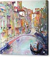 Delight Of Venice Acrylic Print
