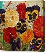 Delightful Garden Acrylic Print
