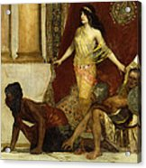 Delilah And The Philistines Acrylic Print
