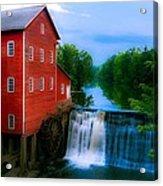 Dells Mill Acrylic Print
