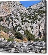 Delphi Stadium Ruins 2 Acrylic Print