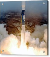 Delta II Rocket Taking Off Acrylic Print